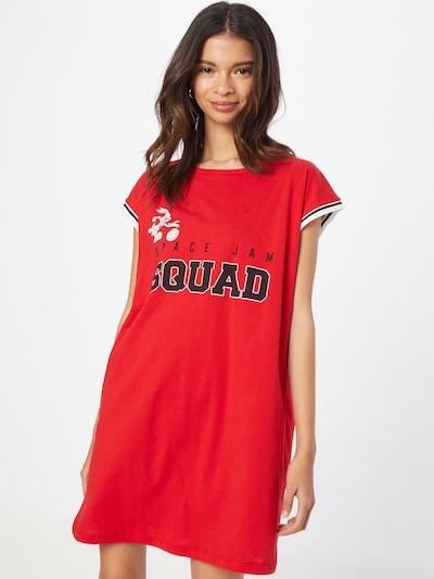 Trendyol Kleid in rot / schwarz / weiß, Modelansicht