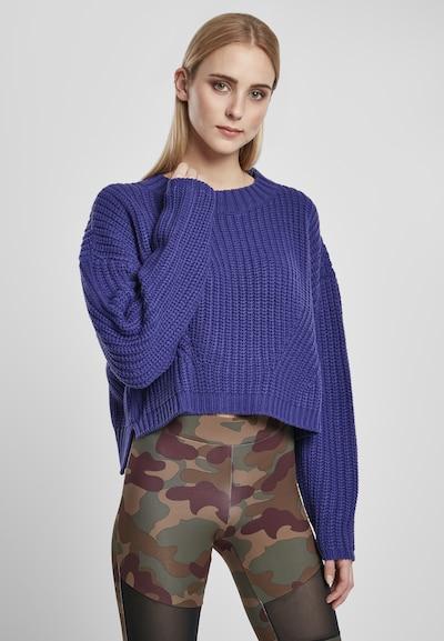 Urban Classics Pullover in violettblau, Modelansicht