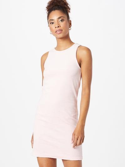 WEEKDAY Kleid 'Stella' in rosa / weiß, Modelansicht
