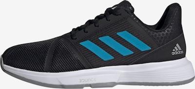ADIDAS PERFORMANCE Sportschuh 'CourtJam' in blau / schwarz, Produktansicht