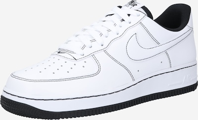 Sneaker bassa 'Air Force 1 '07' Nike Sportswear di colore nero / bianco, Visualizzazione prodotti
