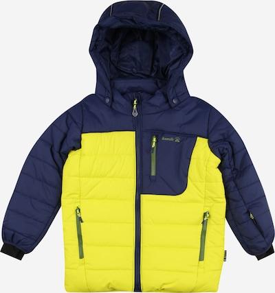 Kamik Outdoorjas 'VAN20' in de kleur Navy / Geel, Productweergave