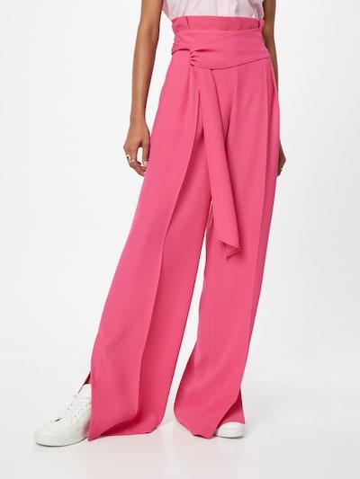 HUGO Laskoshousut 'Hinane' värissä vaaleanpunainen, Mallinäkymä