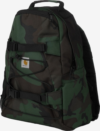 Carhartt WIP Rucksack 'Kickflip' in braun / grün / schwarz, Produktansicht