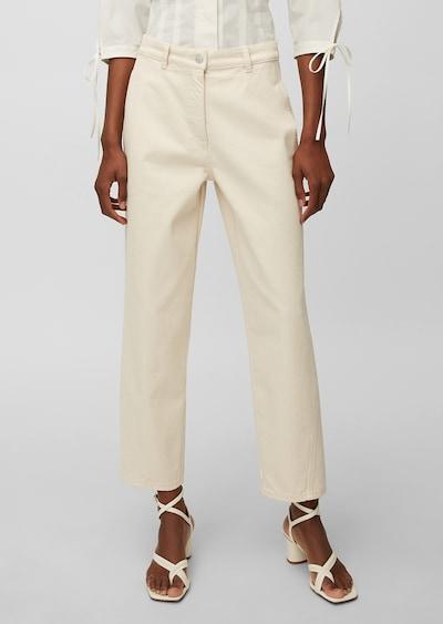 Marc O'Polo Pure Jeans in de kleur White denim, Modelweergave