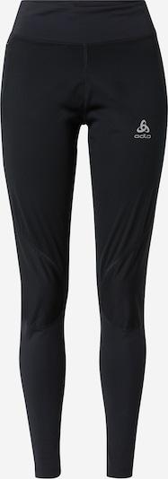 ODLO Workout Pants in Smoke grey / Black, Item view