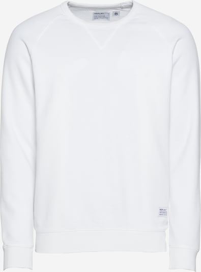 REPLAY Sweatshirt in offwhite, Produktansicht