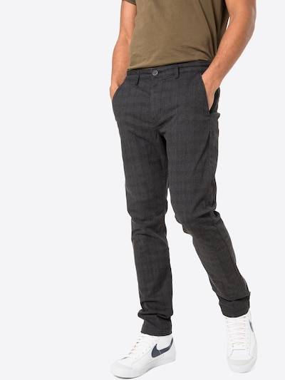 Chino stiliaus kelnės iš Lee , spalva - pilka / šviesiai pilka, Modelio vaizdas