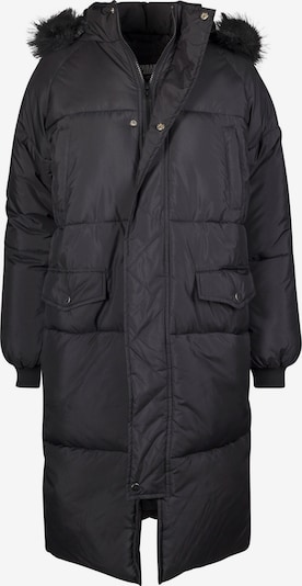 Urban Classics Curvy Winter coat in Black / White, Item view