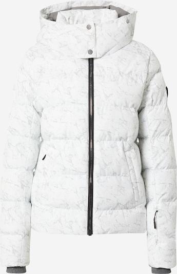 ZIENER Veste de sport en gris / blanc, Vue avec produit