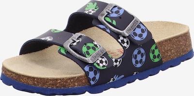 Atviri batai iš SUPERFIT , spalva - nakties mėlyna / dūmų pilka / šviesiai žalia / balta, Prekių apžvalga