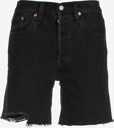 LEVI'S Jeans ' 501 Mid Thigh ' in braun / rot / schwarz / weiß, Produktansicht