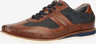 DANIEL HECHTER Sneakers laag in de kleur Blauw / Bruin, Productweergave