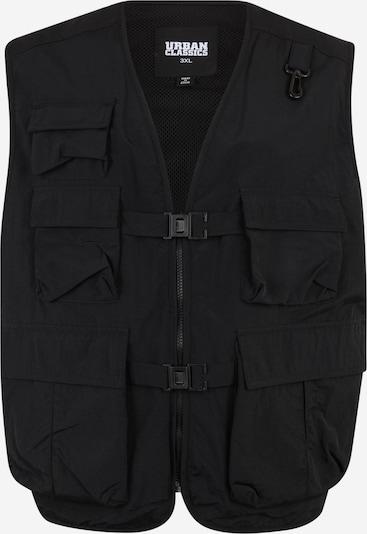 Urban Classics Big & Tall Bodywarmer 'Tactical' in de kleur Zwart, Productweergave