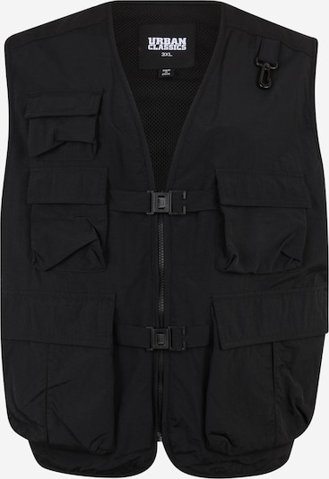 Urban Classics Big & Tall Prsluk 'Tactical' u crna, Pregled proizvoda