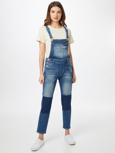 FREEMAN T. PORTER Dungaree jeans 'Tara' in Blue denim, View model
