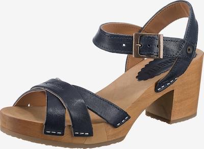 Grünbein Sandale in dunkelblau, Produktansicht