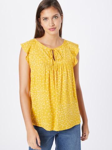 Camicia da donna 'V-CAP SLV VNK TOP' di GAP in giallo