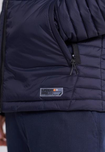 Superdry Tussenjas 'Verstaubare Fuji' in de kleur Nachtblauw, Productweergave