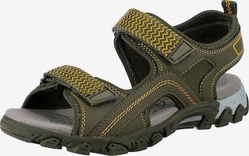 SUPERFIT Sandalen in Grün