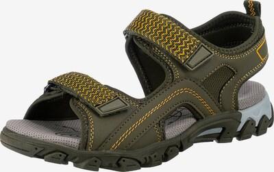 SUPERFIT Sandalen in oliv, Produktansicht