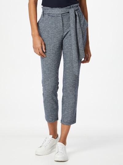 CECIL Kalhoty - modrá / světle šedá, Model/ka