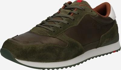 barna / sötétzöld LLOYD Rövid szárú edzőcipők 'EDMOND', Termék nézet
