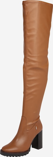 Steven New York Over the Knee Boots 'SABRINA' in Camel, Item view