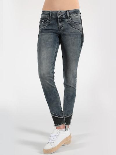 Miracle of Denim Jeans 'Serena' in blau, Modelansicht
