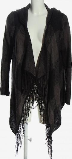 FB Sister Cardigan in S in braun / schwarz, Produktansicht