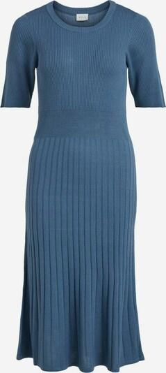 VILA Strickkleid in blau, Produktansicht