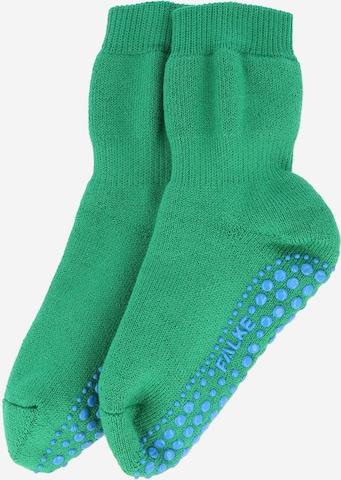 FALKE Socks 'Catspads' in Green