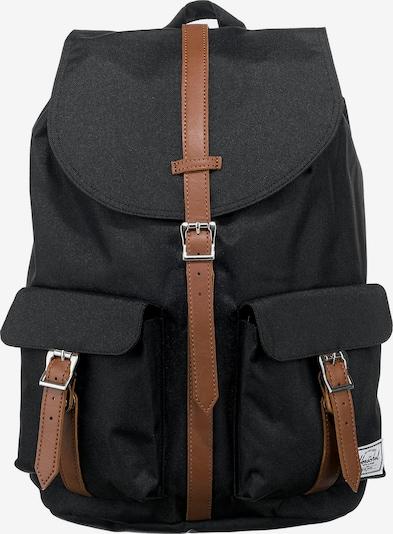 Herschel Rucksack 'Dawson' in braun / schwarz, Produktansicht