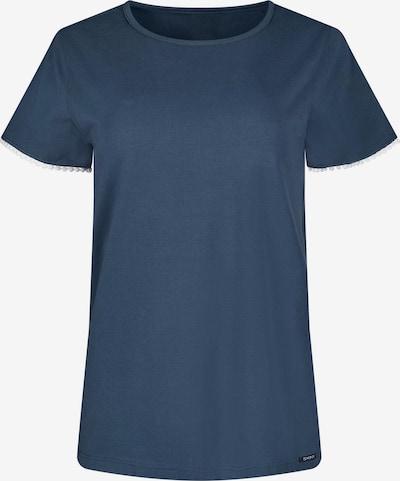 Skiny Chemise de nuit en bleu / blanc, Vue avec produit