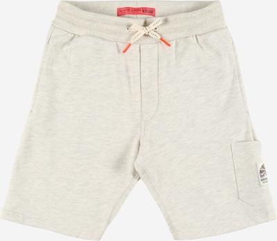Pantaloni SCOTCH & SODA pe ecru, Vizualizare produs