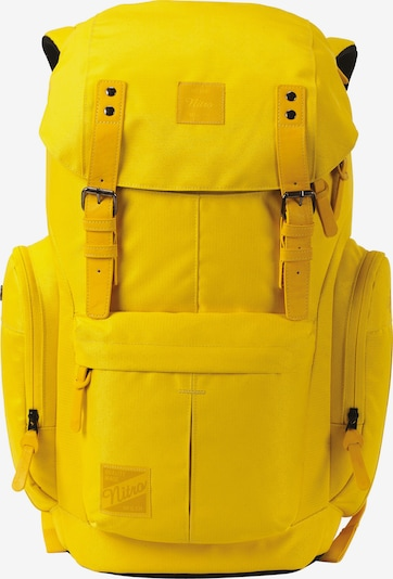 NitroBags Rucksack 'Urban Daypacker' in limone / schwarz, Produktansicht