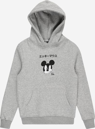 Mister Tee Bluza 'Mickey Japanese' w kolorze nakrapiany szary / czarny / białym, Podgląd produktu