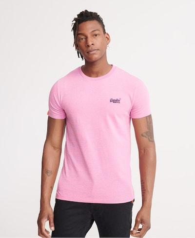 Superdry T-Shirt in hellpink: Frontalansicht