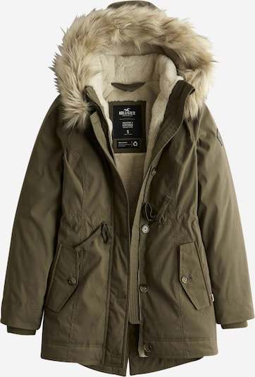 HOLLISTER Winter parka in olive, Item view