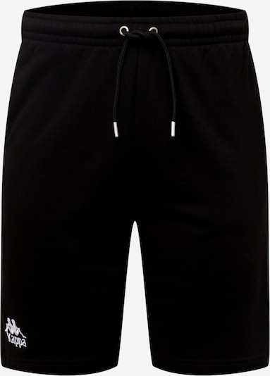 KAPPA Spodnie sportowe 'Topen' w kolorze czarny / białym, Podgląd produktu