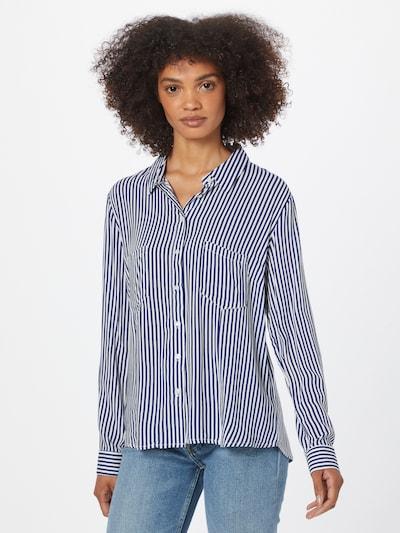 Bluză 'Adetta' Hailys pe bleumarin / alb, Vizualizare model
