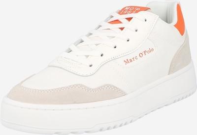Marc O'Polo Sneaker 'Carla' in hellgrau / orange / offwhite, Produktansicht