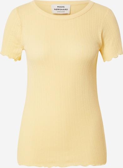MADS NORGAARD COPENHAGEN T-Shirt 'Trixa' in pastellgelb, Produktansicht