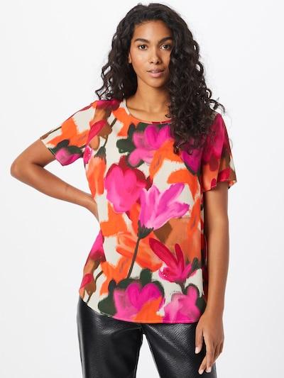 LIEBLINGSSTÜCK Bluse 'Elice' in creme / dunkelorange / pink / rot / schwarz, Modelansicht