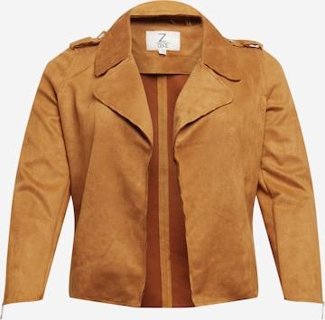 Z-One Between-Season Jacket 'Scarlett' in Brown