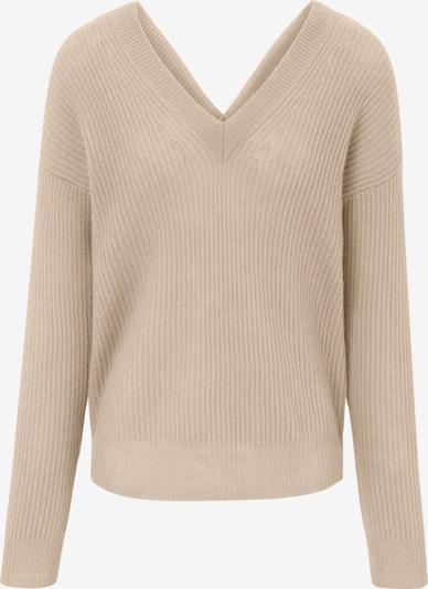 include Pullover aus Kaschmir in beige, Produktansicht