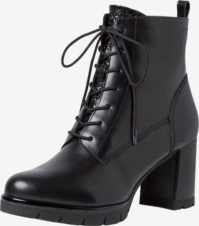 TAMARIS Lace-Up Ankle Boots in Black, Item view