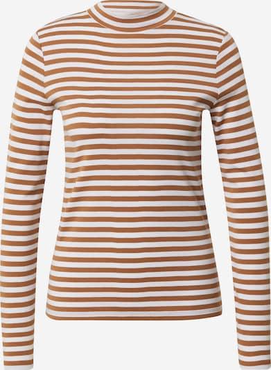 EDC BY ESPRIT Shirt in orange / weiß, Produktansicht