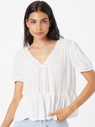 Bluză Tally Weijl pe alb murdar, Vizualizare model