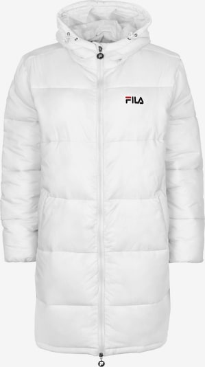 FILA Manteau d'hiver 'Bronwen' en blanc, Vue avec produit